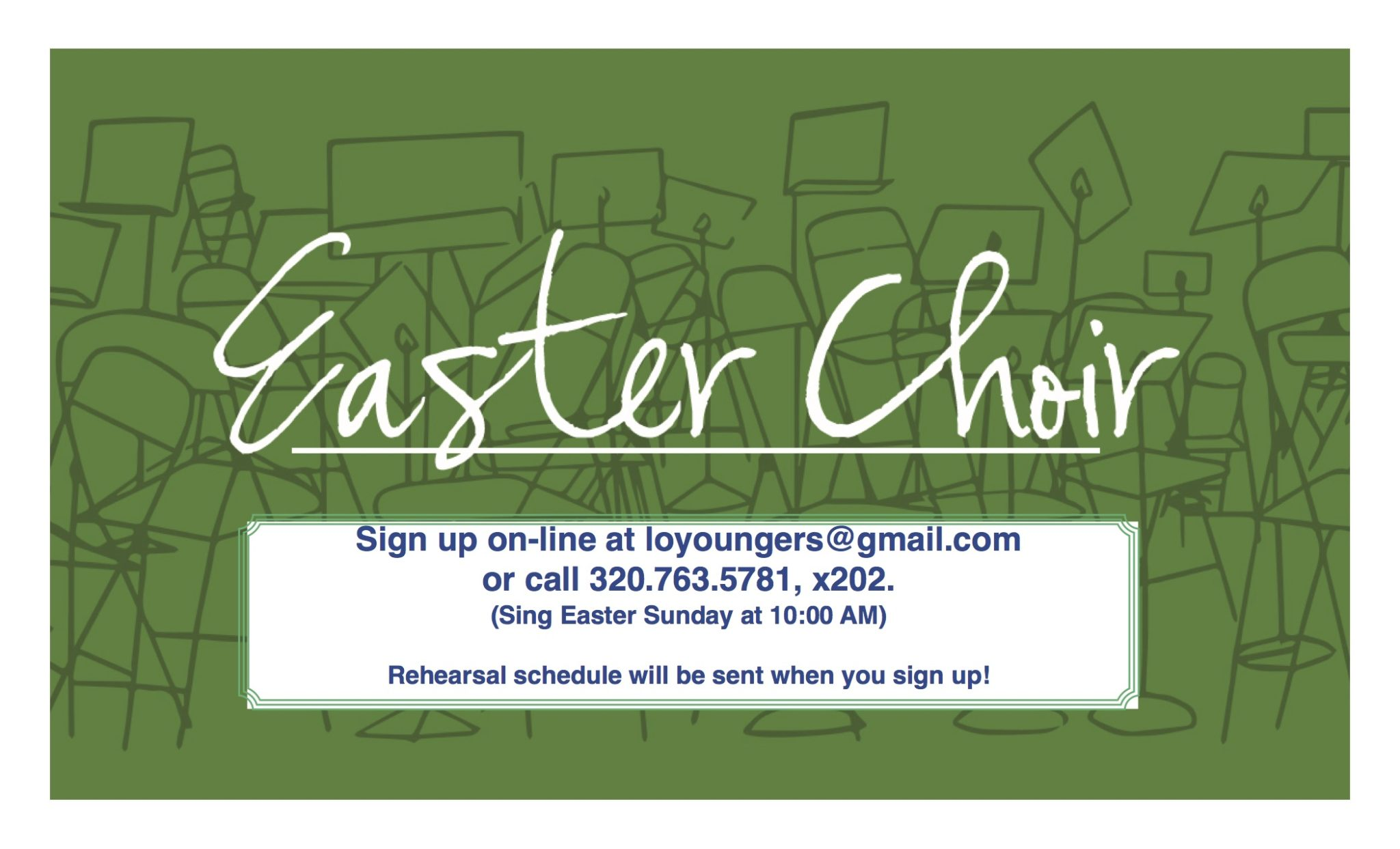 EasterChoirPoster2018